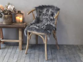 Konstgjord fårfäll L90xB60 cm - grå , hemmetshjarta.se