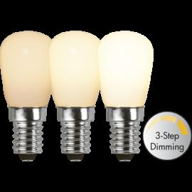 LED-Lampa E14 Ø26 Dim 3-step lm150/16w Frostad , hemmetshjarta.se