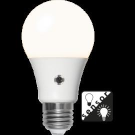 LED-Lampa E27 Sensor Ø60 lm806/60w Frostad , hemmetshjarta.se