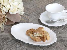 Provence - Desserttallrik ovalt , hemmetshjarta.se