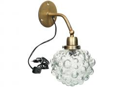 Vägglampa Globe Glas 12cm , hemmetshjarta.se