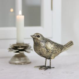 Stående fågel 13,5 cm , hemmetshjarta.se