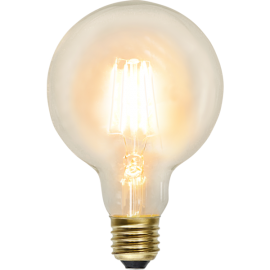 LED-lampa E27 Soft Glow G95 , hemmetshjarta.se