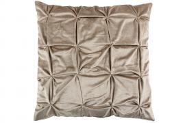 Kuddfodral Dream Sammet 60x60 cm - beige , hemmetshjarta.se
