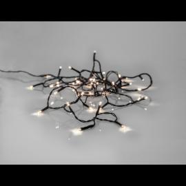 Ljusslinga Utomhus EL Crispy Ice White Vit 40 ljus 280cm , hemmetshjarta.se
