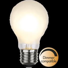 LED-Lampa E27 Ø60 Dim lm325/30w Frostad , hemmetshjarta.se