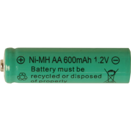 Laddbart batteri AA 1,2V 600 mAh Ni-MH 2-pack , hemmetshjarta.se