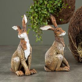 Hare Old Brun Poly 20cm 1 st , hemmetshjarta.se