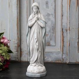 Madonna prayer H36 cm antikvit / opal , hemmetshjarta.se