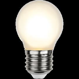 LED-Lampa E27 Ø45 lm150/16w Frostad , hemmetshjarta.se