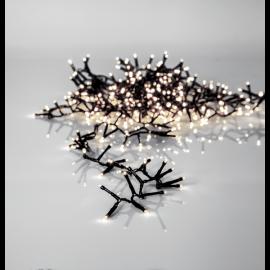 Ljusslinga Utomhus EL Crispy Ice White Vit 800 ljus 1600cm , hemmetshjarta.se
