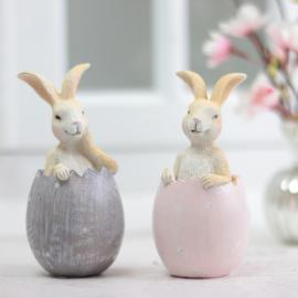 Kanin i ägg 2-pack , hemmetshjarta.se
