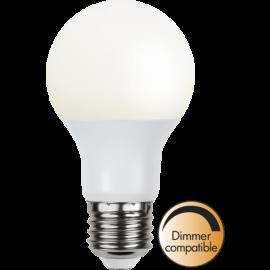 LED-Lampa E27 Ø60 Dim lm470/40w Frostad Basic , hemmetshjarta.se