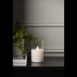 LED Blockljus M-Twinkle Transparent 7,5x12,5 , hemmetshjarta.se