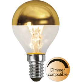 LED-Lampa E14 Top Coated Ø45 Dim lm250/25w Gold , hemmetshjarta.se