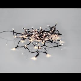Ljusslinga Utomhus EL Crispy Ice White Vit 80 ljus 560cm , hemmetshjarta.se