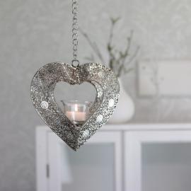Hängande Hjärta värmeljus , hemmetshjarta.se