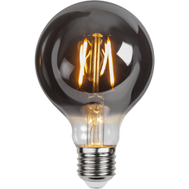 LED-lampa E27 Plain Smoke G80 , hemmetshjarta.se
