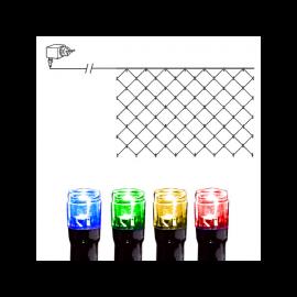 Ljusnät Utomhus EL Serie LED Multi 90 ljus 200cm , hemmetshjarta.se