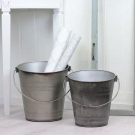 Vecka 21 Hinkar 2-pack - cloudy/grå , hemmetshjarta.se
