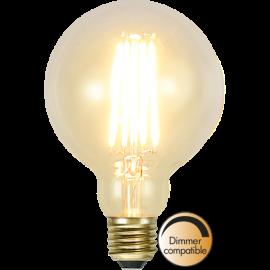 LED-lampa E27 Soft Glow G95 Dim , hemmetshjarta.se
