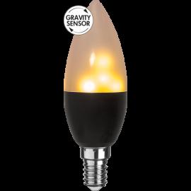 LED-lampa E14 Flame C37 , hemmetshjarta.se