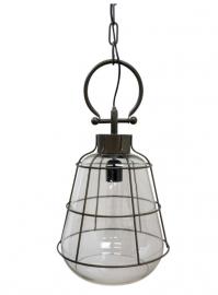 Lampa Industry H52,5 / Ø27 cm antikol , hemmetshjarta.se