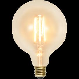 LED-lampa E27 Soft Glow G125 , hemmetshjarta.se