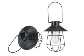 Lampa/Solcell Led Häng Svart Ant.17x22cm , hemmetshjarta.se