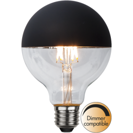 LED-lampa E27 Top Coated G95 Dim , hemmetshjarta.se