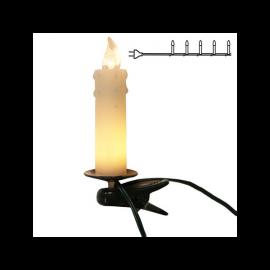 Julgransbelysning Vit 10 12cm , hemmetshjarta.se