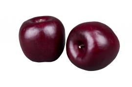 Äpple Burgundy 70mm 3-pack , hemmetshjarta.se