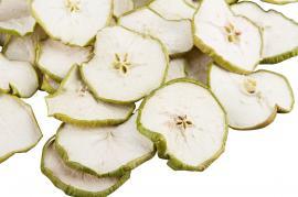 Äppleskivor Torkade Gröna 250g , hemmetshjarta.se