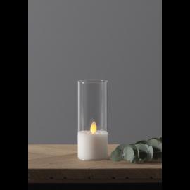 LED Blockljus M-Twinkle Transparent 5x12,5 , hemmetshjarta.se