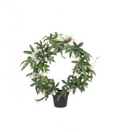 Konstgjord Passiflora 40 cm , hemmetshjarta.se