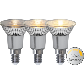 LED-Lampa E14 PAR16 Spotlight Glass Dim 3-step , hemmetshjarta.se