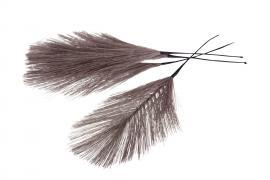 Syntetisk Fjäder/Tråd Lila 17cm 12st , hemmetshjarta.se