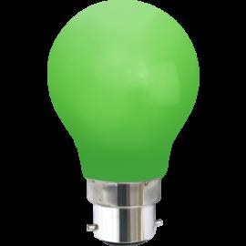LED-lampa B22 Outdoor Lighting A55 Grön , hemmetshjarta.se