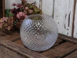 Vas med diamantslipad H16 / Ø18 cm klar , hemmetshjarta.se