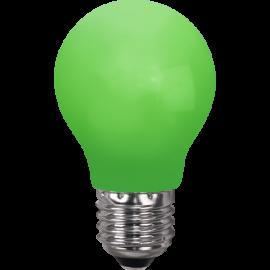 LED-lampa E27 Outdoor Lighting A55 Grön , hemmetshjarta.se