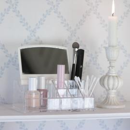 .Smink Förvaring Plexiglas med spegel , hemmetshjarta.se