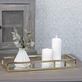 .Spegelfat Lyx 40 cm - guld , hemmetshjarta.se