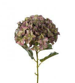 Konstgjord Hortensia. 110 cm , hemmetshjarta.se