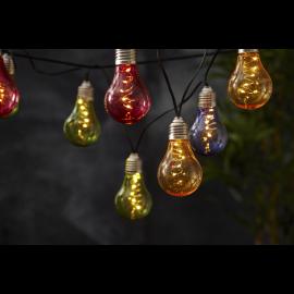Solcells-ljusslinga Glow , hemmetshjarta.se