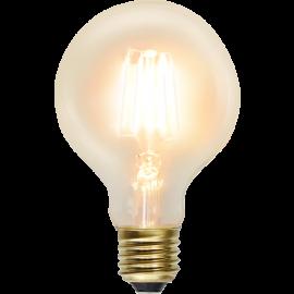 LED-lampa E27 Soft Glow G80 , hemmetshjarta.se