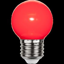 LED-lampa E27 Outdoor Lighting G45 Röd , hemmetshjarta.se