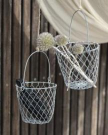 Korg tråd med handtag 12,5 cm , hemmetshjarta.se