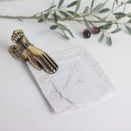 Klämma Hand Vägg/Bord 12 cm , hemmetshjarta.se