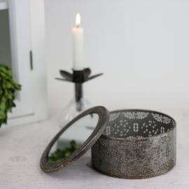 Ask med spegellock - guldbrun , hemmetshjarta.se
