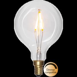 LED-lampa E14 Soft Glow G80 Dim , hemmetshjarta.se
